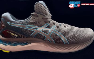 Test chaussures Asics Gel-Nimbus 23