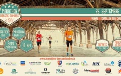 Le Marathon Bresse Dombes change sa date