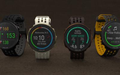 Polar présente les 2 nouvelles montres: La Vantage M2 et l'Ignite 2