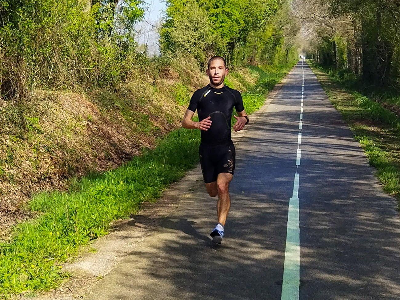 361° running