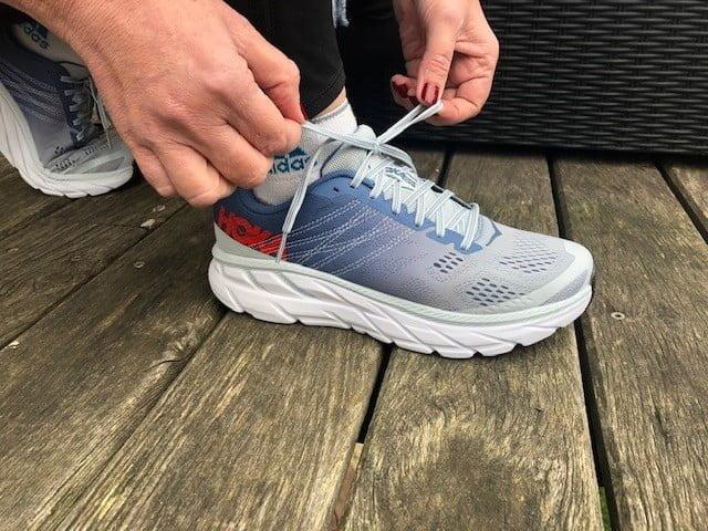 Le lcage des chaussures de running 1