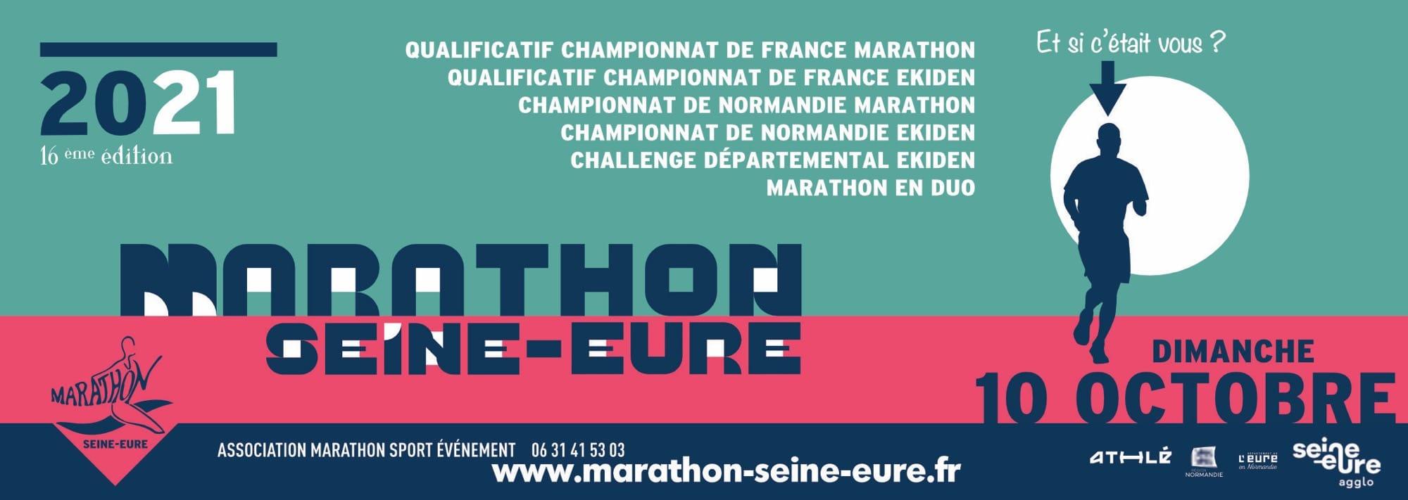 Marathon Seine Eure 10 octobre 2021
