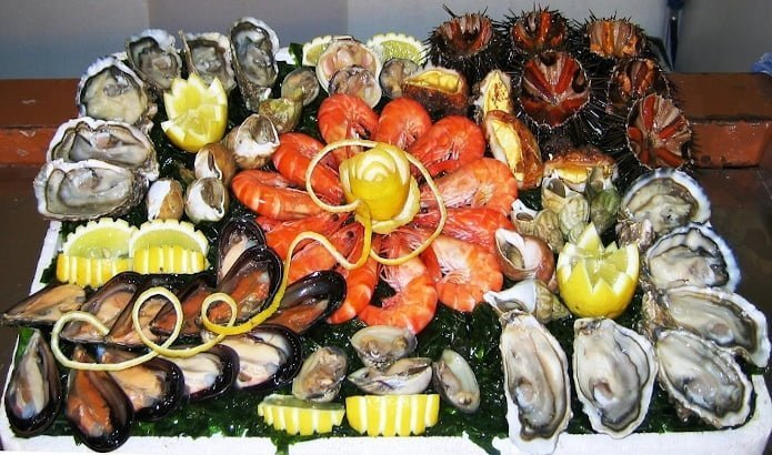 Plateau fruits de mer