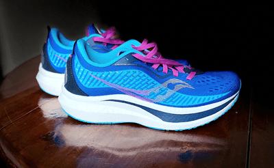 Test des chaussures Saucony Endorphin Speed 2